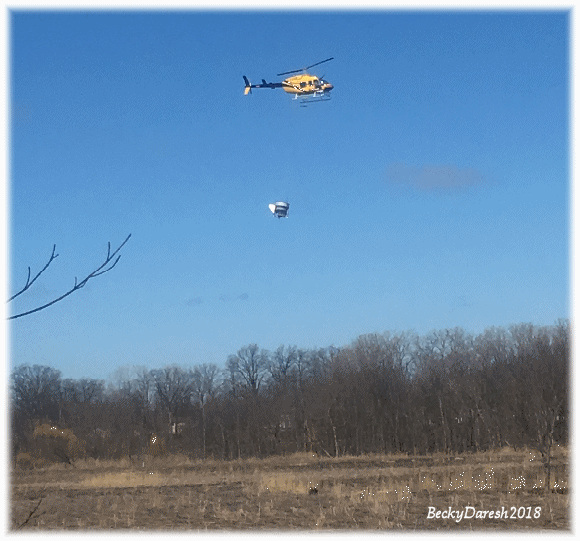 Mentor Marsh Aerial Reseeding Restoration Efforts